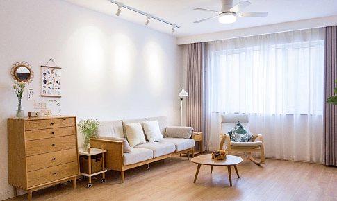 150㎡日式+北歐?3室2廳,溫潤柔和的暖心之家