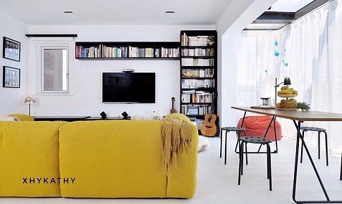 阳光房、大厨房、衣帽间、智能家居   小空间大改造,65m²的理想生活