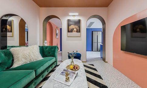 95年老破小變身時髦公寓,最「好色」屋主的家