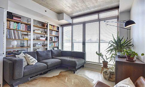 百葉窗+透光玻璃+LDK,80后文藝范兒的輕工業風小屋