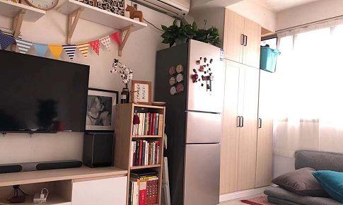 上海36平一室一厅长条户型小小改造