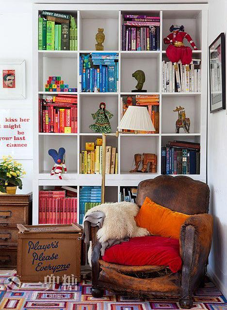 北欧宜家书房装修效果图