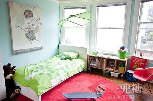 给小朋友准备的房间 简简单单的,只想给他一个充满想象力的高清图片