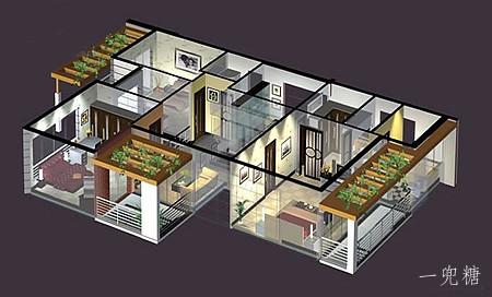 住宅平面设计图   某新农村住房建设设计方案   住房装修