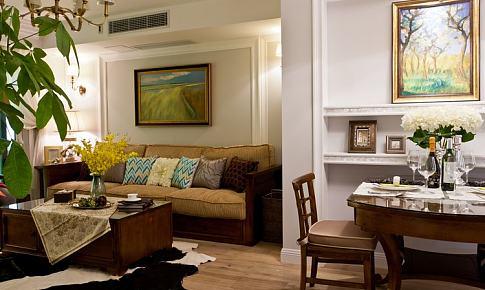 游走于美式和中式之间--小房子的美式风情(15页补充了入住后卫生间、干区?#21526;瘛?#23458;厅、储藏室的一些生活照片)