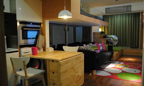 上海老公房 33平方超小户型装修毕业照