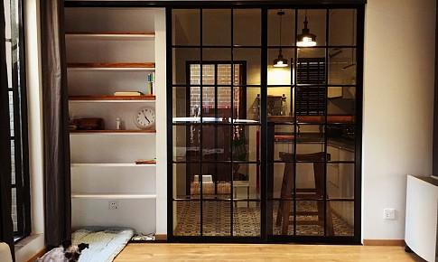 23平方,超小户老洋房改造,地暖黑板墙?#20171;?#31859;小阁楼阳光房老榆木吧台一个都不能少