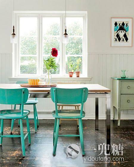 餐厅来个夏天的早餐吧 家装样板房装修效果图 一兜糖样板房