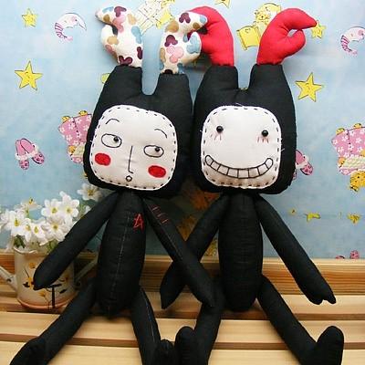 手工布偶娃娃制作图解