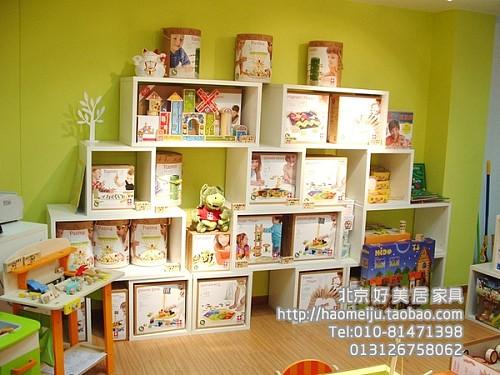 隔断 收藏 简约/包物流小方格柜儿童玩具饰品 橱窗展示柜 隔断柜柜白