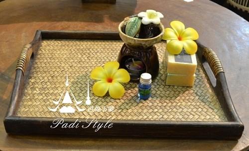 【图】泰国工艺品 泰式托盘果盘 美容院精油托
