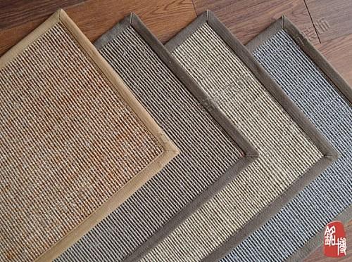 天然环保剑麻地毯客厅地毯 剑麻地垫门口垫 地毯 江浙沪包邮_图1