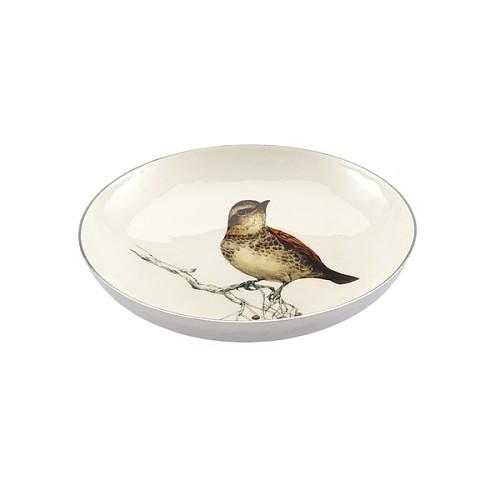 Harbor House 铝制圆形浅盘-小鸟图案 装饰盘 104446_图2