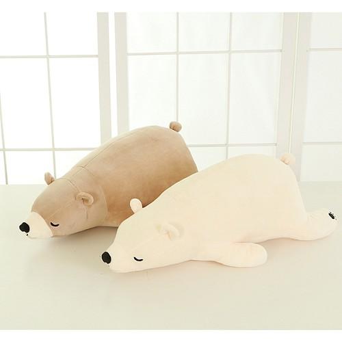 北极熊毛绒玩具 大号熊抱枕公仔趴趴熊儿童玩偶 女生生日礼物包邮_图3