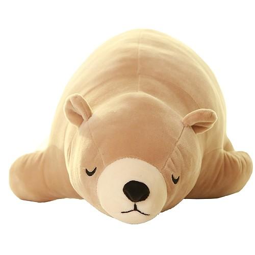 北极熊毛绒玩具 大号熊抱枕公仔趴趴熊儿童玩偶 女生生日礼物包邮_图1
