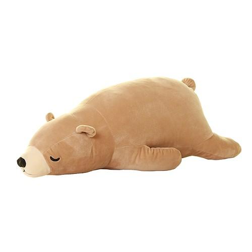 北极熊毛绒玩具 大号熊抱枕公仔趴趴熊儿童玩偶 女生生日礼物包邮_图4