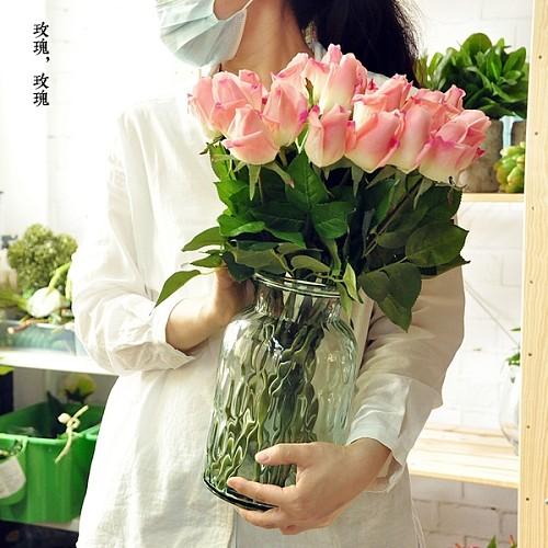 20枝包邮 手感保湿玫瑰花蕾 含苞玫蕾 F503_图2