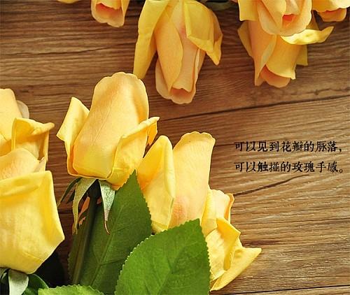 20枝包邮 手感保湿玫瑰花蕾 含苞玫蕾 F503_图4