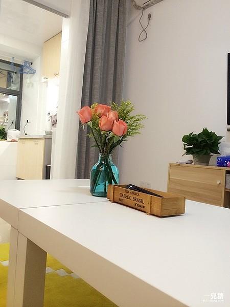 欧式玻璃花瓶透明餐桌花瓶中号插花瓶客厅餐厅摆件三件包邮_图2