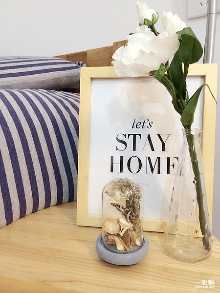 新款宜家纳迪时尚玻璃花瓶水培花瓶雨点花瓶窗台摆设 三件包邮_图1