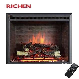 RICHEN丽辰 欧式电壁炉取暖器 电壁炉炉芯遥控 特价 威斯特