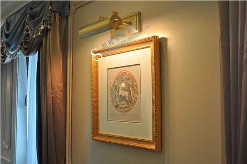美国visual comfort artemis home可调节镜前灯现代美式画框灯_图2