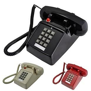 比特美式办公老式电话机创意仿古电话家用复古固话座机老铃声包邮_图2