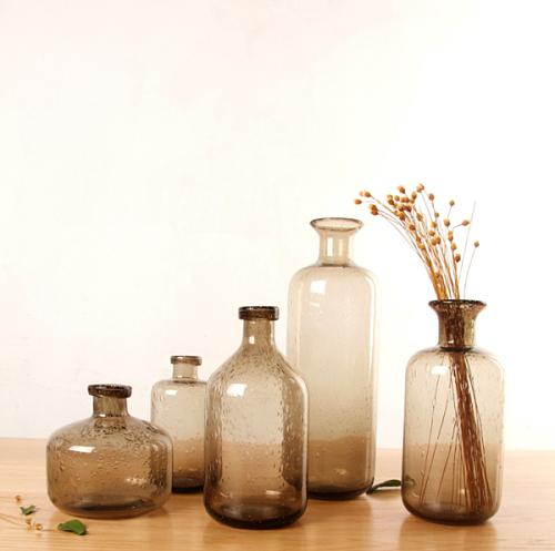 上新预告 喜欢的可以点击收藏。气泡花瓶 家居摆设 北欧_图1