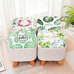 凳换鞋凳边几 手绘花鸟陶瓷鼓凳