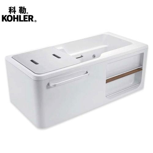 科勒新款浴缸 希尔维系列1.5米整体化浴缸K-99017T/99018T_图4