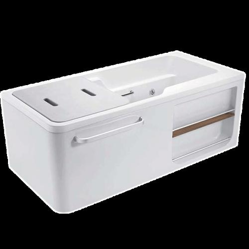 科勒新款浴缸 希尔维系列1.5米整体化浴缸K-99017T/99018T_图3