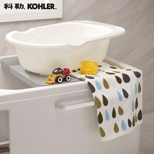 科勒新款浴缸 希尔维系列1.5米整体化浴缸K-99017T/99018T_图5