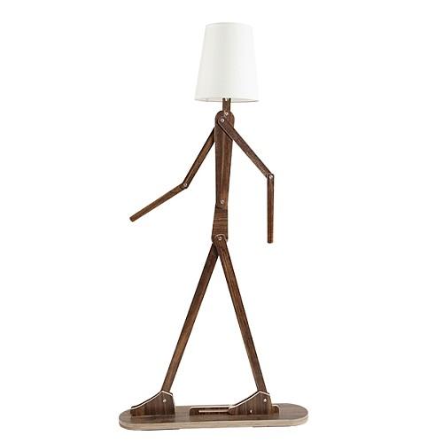 北欧人形立灯落地灯客厅创意 个性装饰儿童房卡通立式台灯坐地灯_图5